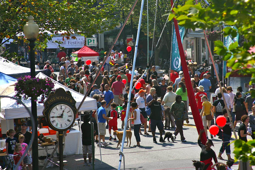 Barracks Row Fall Festival (Photo courtesy of Barracks Row Main Street)