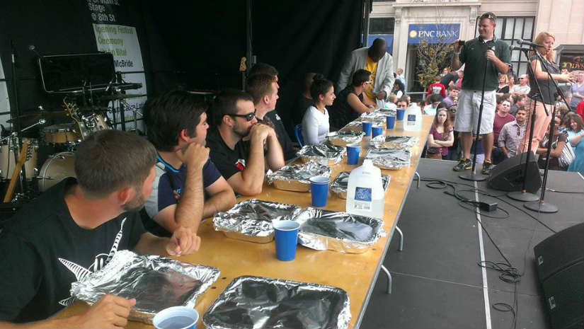 Chupacabra Eating Contest 2014 (Photo via Facebook/ Chupacabra)