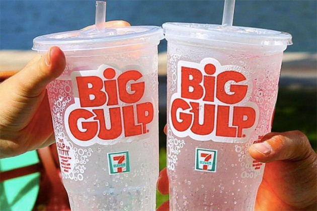 Big Gulps (Photo via Instagram/7-Eleven)
