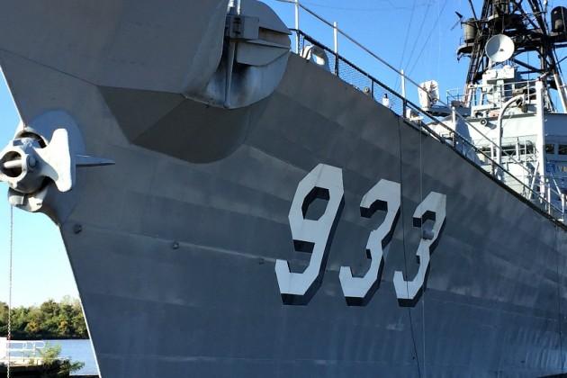 Display Ship Barry (DD 933)