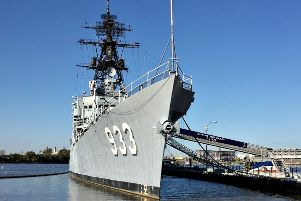 Display Ship Barry on the Anacostia River