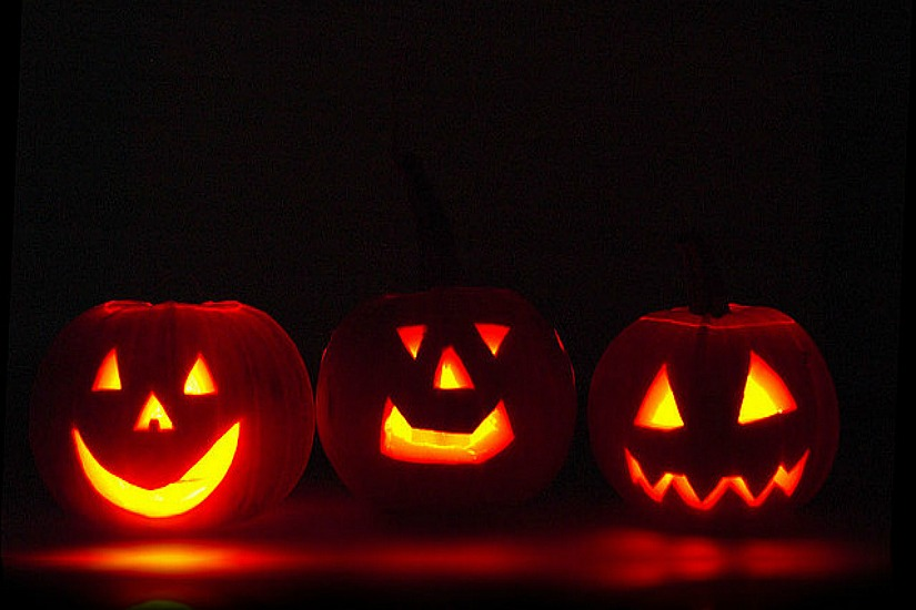 halloween pumpkins via flickrteo - Where To Celebrate Halloween