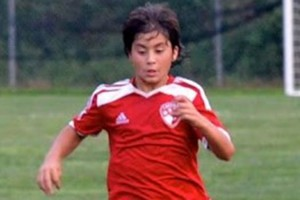 Kalani Takamura (Photo courtesy of W. Scotte MacQueen and Capital FC)
