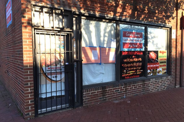 Las Placitas Restaurant's new location at 1100 8th St. SE