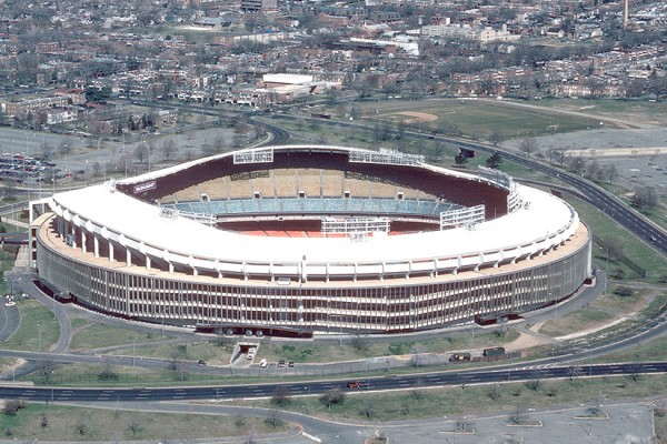 RFK Stadium (Photo via Wikimedia/MSGT KEN HAMMOND)