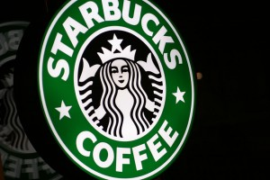 Starbucks sign (Photo via Flickr/Charles Williams)