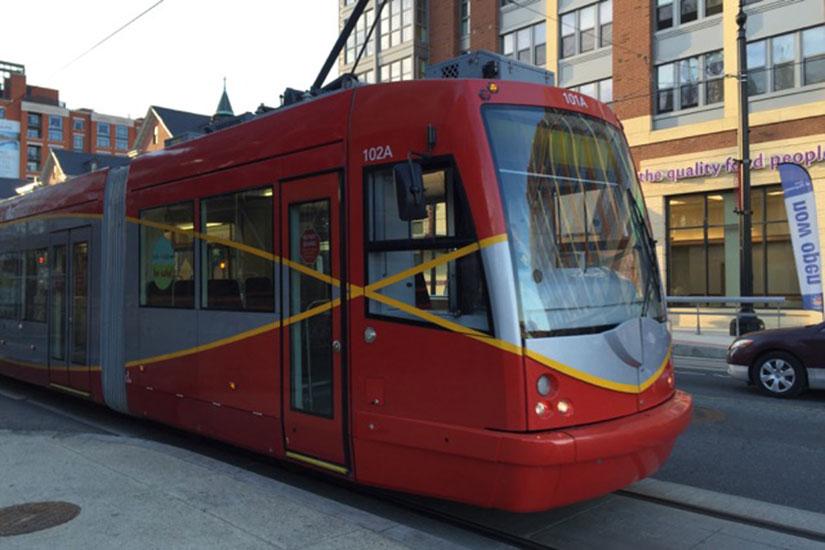 Streetcar on H Street NE