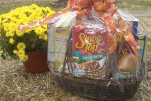 Thanksgiving basket (Photo via Capitol Hill Group Ministry)