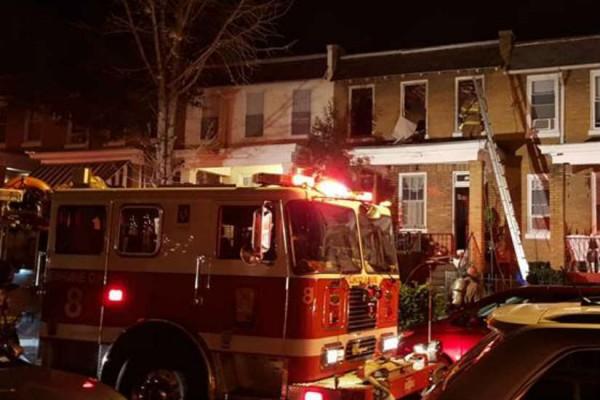Bay Street Fire (Photo via YouCaring/ Bay Street Neighbors)