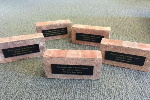 Brickie Awards (Photo via Twitter/ CharlesAllenW6)