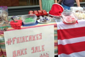 FOIA Cakes Bake Sale (Photo via Twitter/ Denise Rucker Krepp)