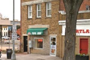 Papa John's Pizza at 914 11th St. SE (Photo via Google Maps)