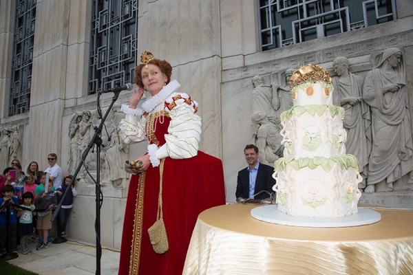 Shakespeare's Birthday (Photo via Folger Shakespeare Library)