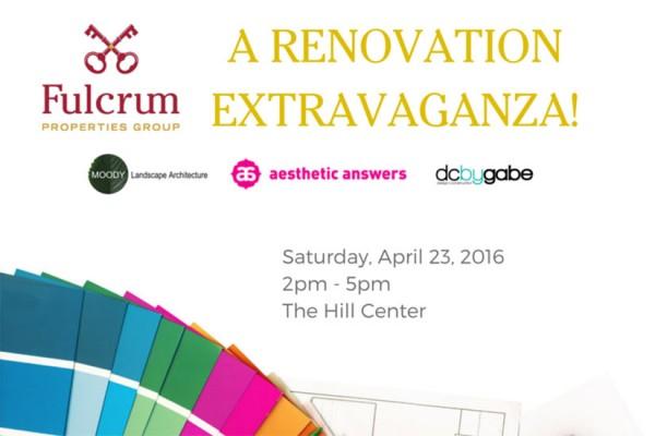 Renovation Extravaganza!