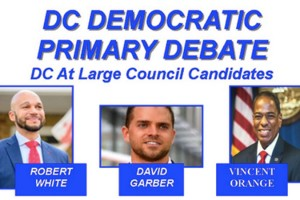 DC Democratic Primary Debate (Image via Capitol Hill Public Schools Parent Organization)