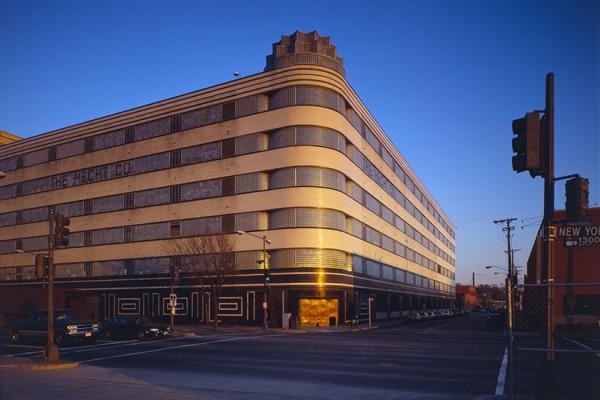 Hecht's Company Warehouse at 1401 New York Ave. NE (Photo via Wikimedia/Jack Boucher)