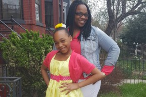 Stephanie Goodloe and Simaya, photo via GoFundMe