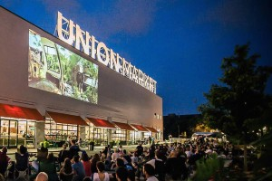 Union Market outdoor movies, photo via Union Market